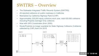 Webinar #1  Accessing and Using Data to Evaluate Traffic Safety