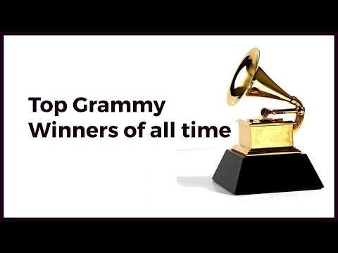 Top Grammy winners of all time