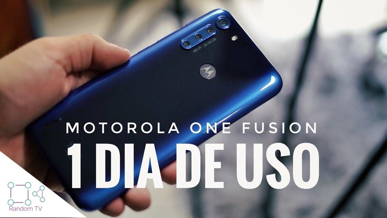 Motorola One Fusion: 1 Día de Uso (NO TIENE RIVAL)