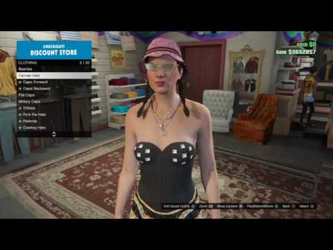 GTA 5 ONLINE ACCIDENTALLY Delete MY FEMALE CHARACTER