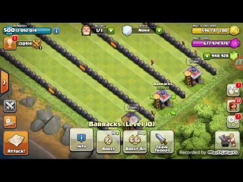 Lucu Balapan Troops Clash Of Clans