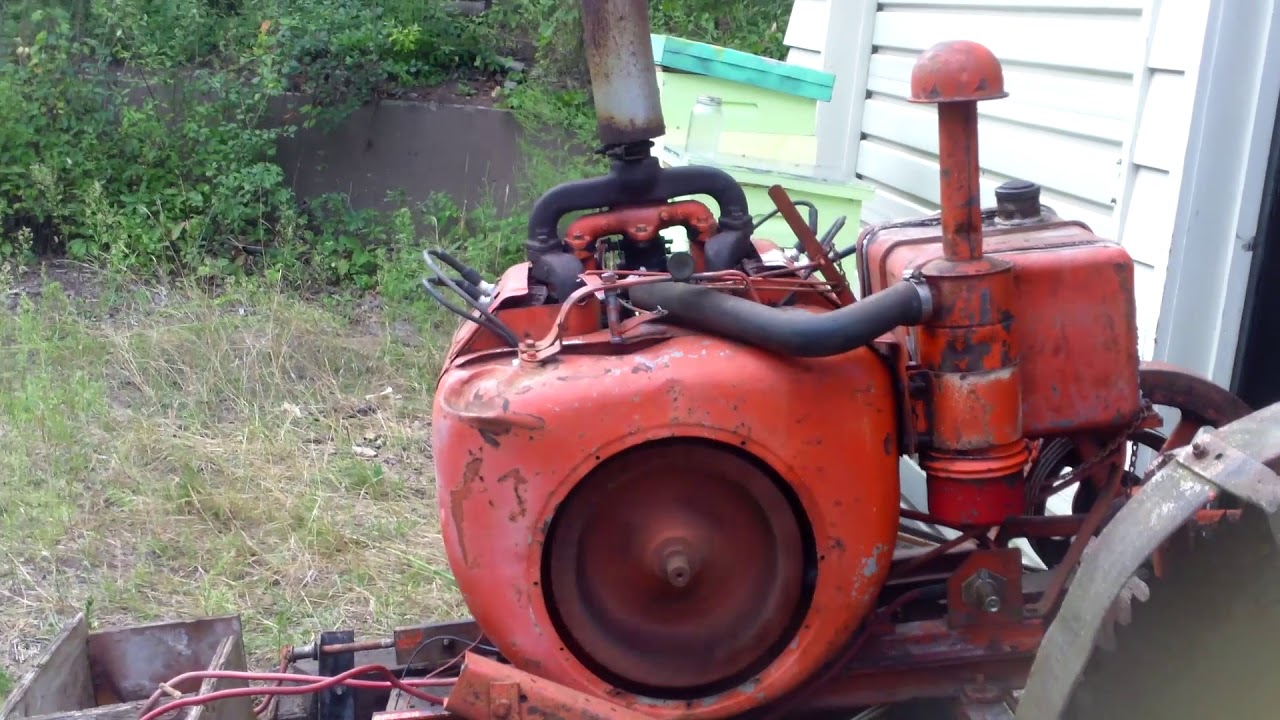 Wisconsin VE4 21 5 HP Air Cooled Engine