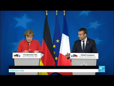REPLAY - Watch Macron's and Merkel's joint press conference at Brussels EU Summit