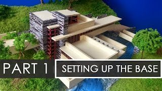 Part 1  How to make a model of Falling waters  Model Making with Sumit