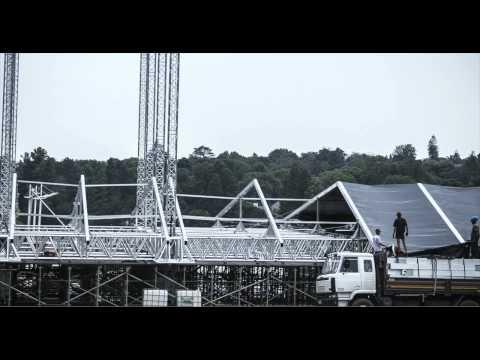 Time-lapse Eurotruss PR-10 Build Up  - Johannesburg