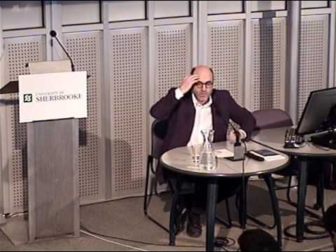 Conférence de Alain Denault à l