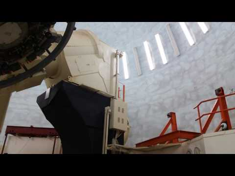 McDonald Observatory #6 - The Dome Moves - April 6, 2017 - Travels With Phil