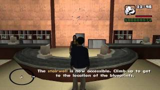 GTA San Andreas - Mission #75 - Architectural Espionage (HD)