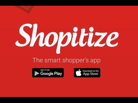 Shopitize: The Smart Shopper's App