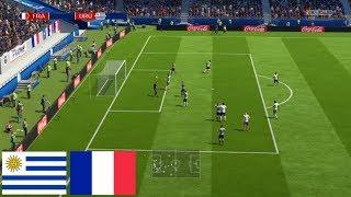 FIFA 18 Uruguay vs Francia - ESPECIAL CUARTOS DE FINAL DEL MUNDIAL 2018    En Español