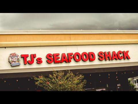 TJ's Seafood Shack, Orlando, Florida Eagle Eats Episode 1