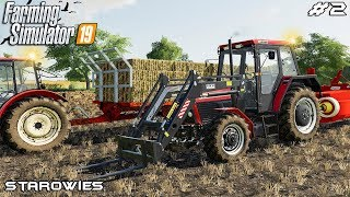 Baling straw and collecting bales | Starowies | Farming Simulator 2019 | Episode 2