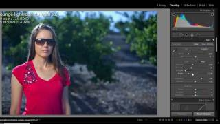 How to Color Correct Portraits and Skin Tones - Lightroom Color Correction Video Tutorial