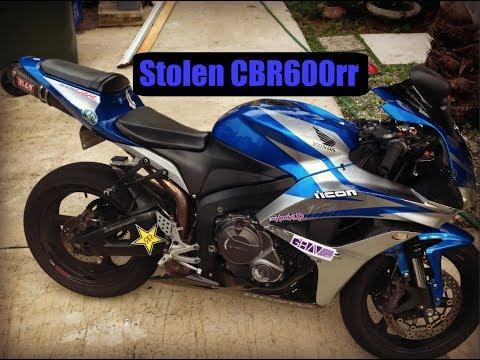 Stolen CBR600RR Found In MIAMI !!