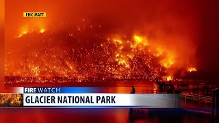 Glacier National Park fire update (Aug 14)