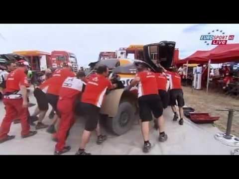 La dureza del Rally Dakar - The hardness of the Dakar Rally