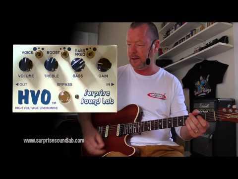 Surprise Sound Lab: HVO (HIGH VOLTAGE OVERDRIVE) V2