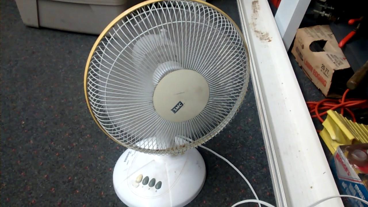 From Smc Stand Fan : Smc quot desk fan youtube