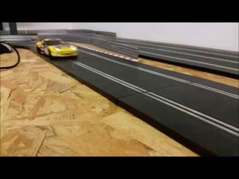 Course sur circuit scalextric #2