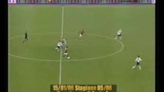 (CALCIO) - Grande azione della Roma tutta di prima - (Roma - Milan 1-0) - (Audio e Video di Caressa)