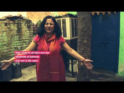 TEAR Fund works with ASHA in Delhi's slums