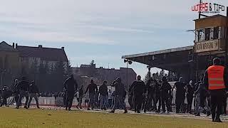 4L: Karpaty Krosno - JKS Jaroslaw [Rozróba, riots]. 2019-03-17