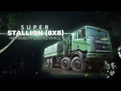 Ashok Leyland Super Stallion 8x8