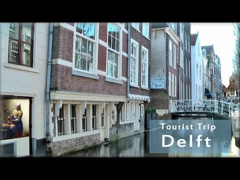 Delft in Holland, the tourist city tour