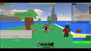 Roblox Survival 303:how to make a firemaking bow/bucket