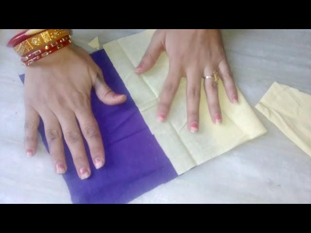 Cutting of kurti & kanchli