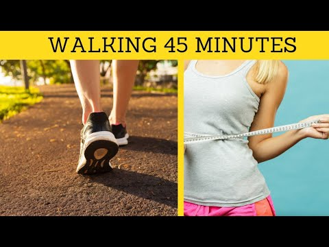 How Many Calories Do You Burn by Walking for 45 Minutes?