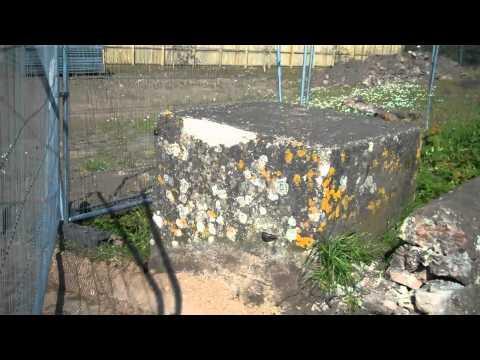 Kirriemuir WWII heritage- Road Block on Kirriemuir Hill