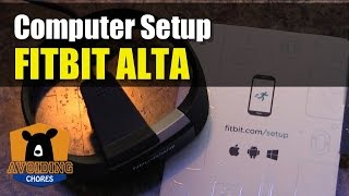 Fitbit Alta - How To Setup With Computer