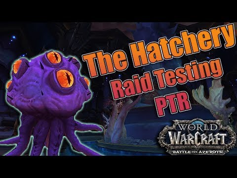 BFA - 8.2 The Eternal Palace Raid Testing! Heroic The Hatchery/Orgozoa! Warlock (Aff/Demo) POV!
