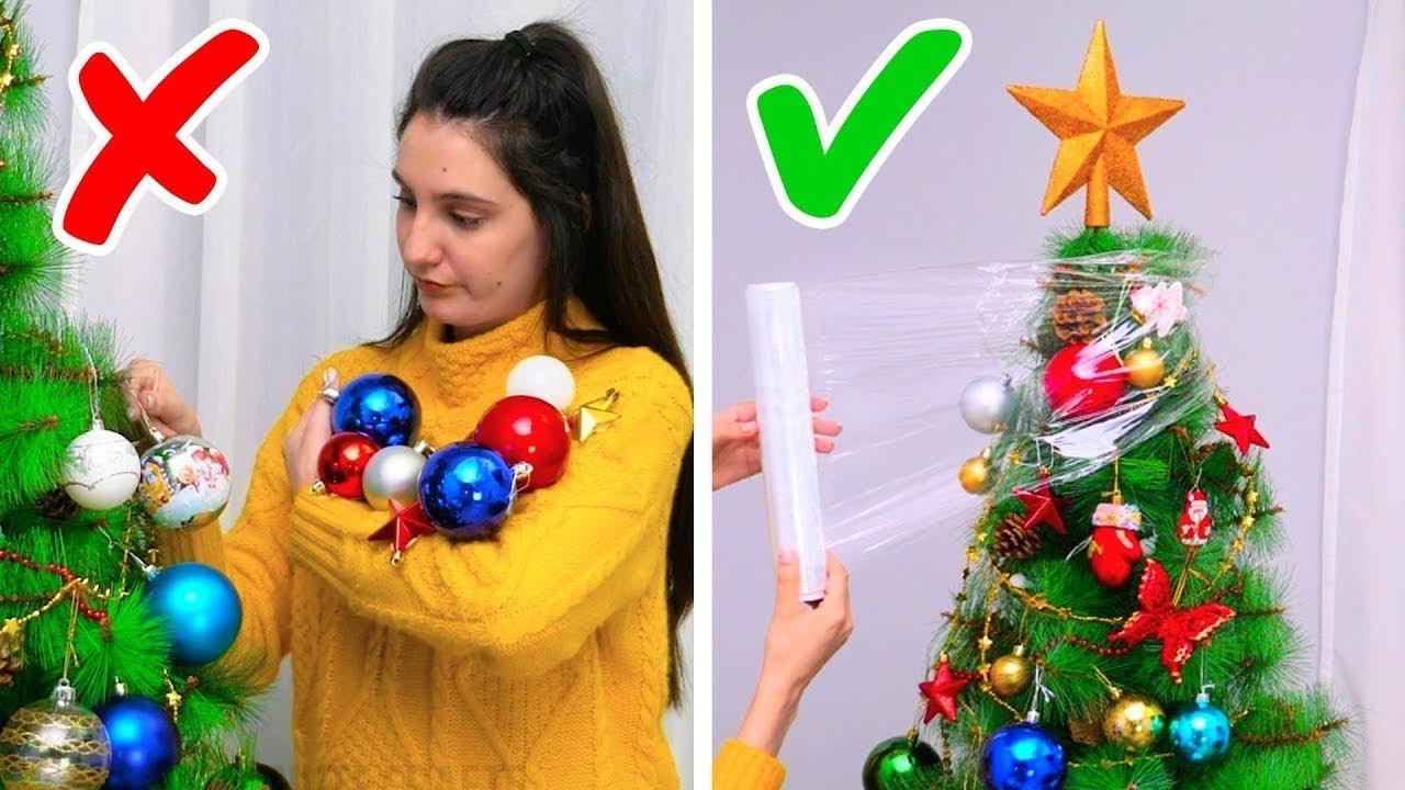 Addobbi Natalizi Trackidsp 006.23 Geniali Trucchetti Per L Albero Di Natale Youtube