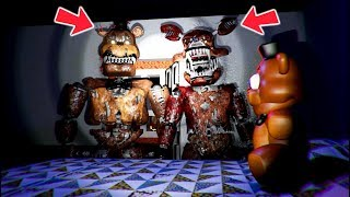 I CAUGHT NIGHTMARE FOXY & FREDDY BREAKING INTO MY BEDROOM! (FNAF 4 IN 3D RedHatter)
