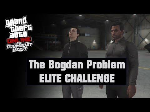 GTA Online (PS4) - The Bogdan Problem ELITE CHALLENGE (2-man Team