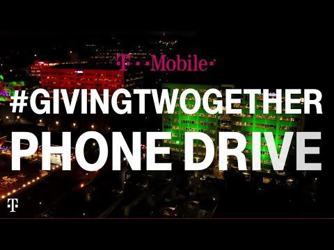T-Mobile's #GivingTWOgether Phone Drive | T-Mobile