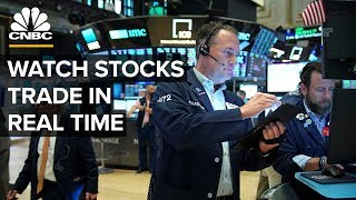 Watch stocks trade in real time as Fed leaves rates unchanged – 06/19/2019 thumbnail