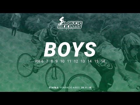 6ª Etapa do Campeonato Gaúcho de BMX 2016 | BOYS
