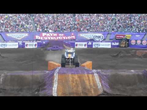 First Front Flip Ever @ Monster Jam Max-D