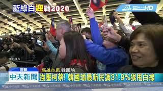 20190307中天新聞 強壓柯蔡! 韓國瑜最新民調31.9%狠甩白綠