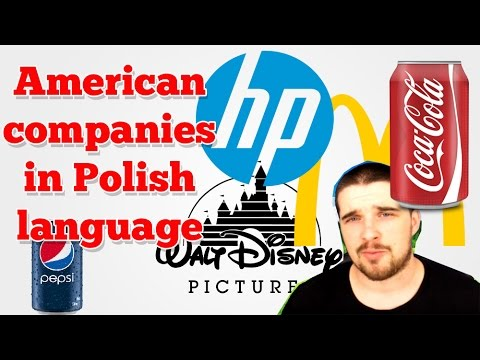 American companies in Polish language
