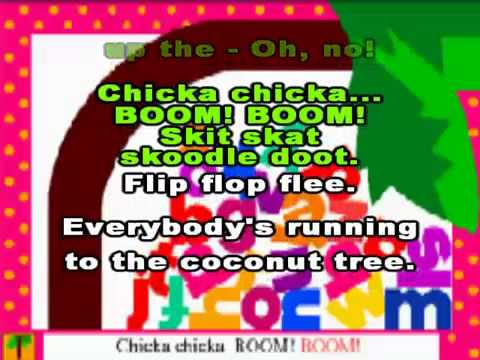 Chicka Chicka Boom Boom - alphabet song!..