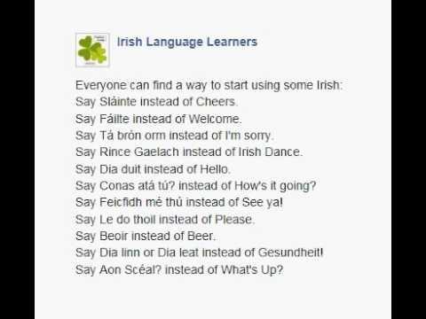 Say Sláinte instead of Cheers