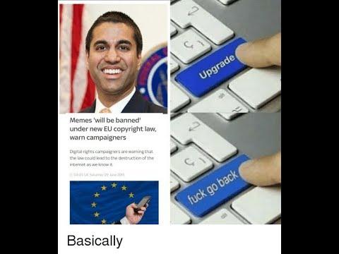 EU Bans Memes/Article 13 - Meme Compilation #Article13 Mp3