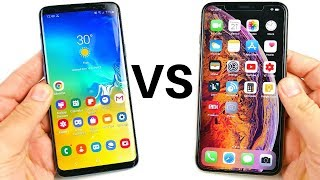 One UI vs iOS 12