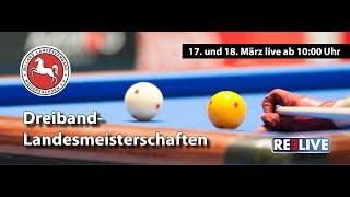 Landesmeisterschaft Karambol / 3Band Billard Landesverband Niedersachsen powered by REELIVE