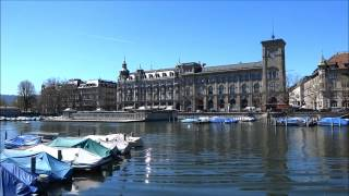 The River Limmat – a great way to see Zurich