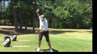 "Developing your ""A"" Backswing position for Maximum Driving Distance"